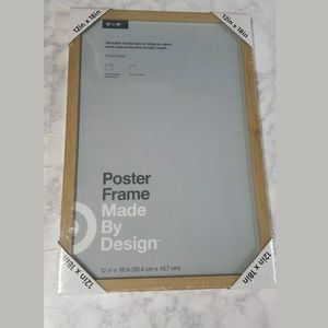 Other - Poster Frame Soft Oak Natural 12 X 18 in Picture